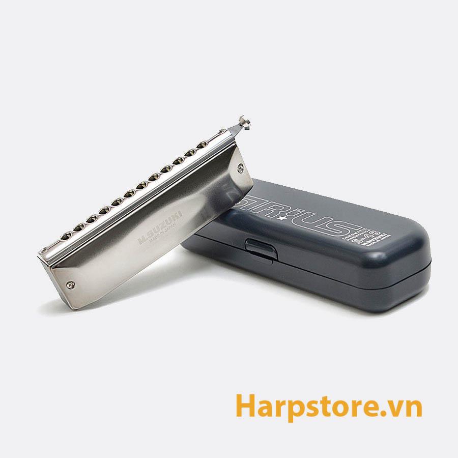 Kèn harmonica chromatic Suzuki Sirius