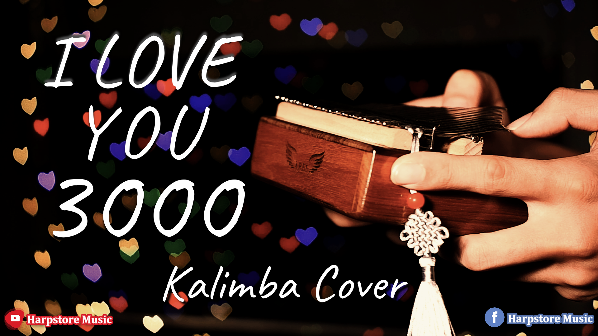 I LOVE YOU 3000 KALIMBA COVER