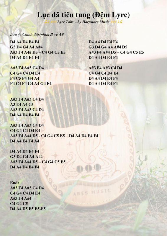 Lục dã tiên tung (Lyre Tabs)-1