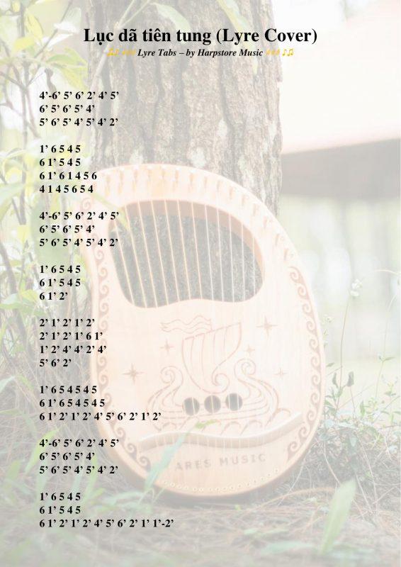 Lục dã tiên tung (Lyre Tabs số)-2