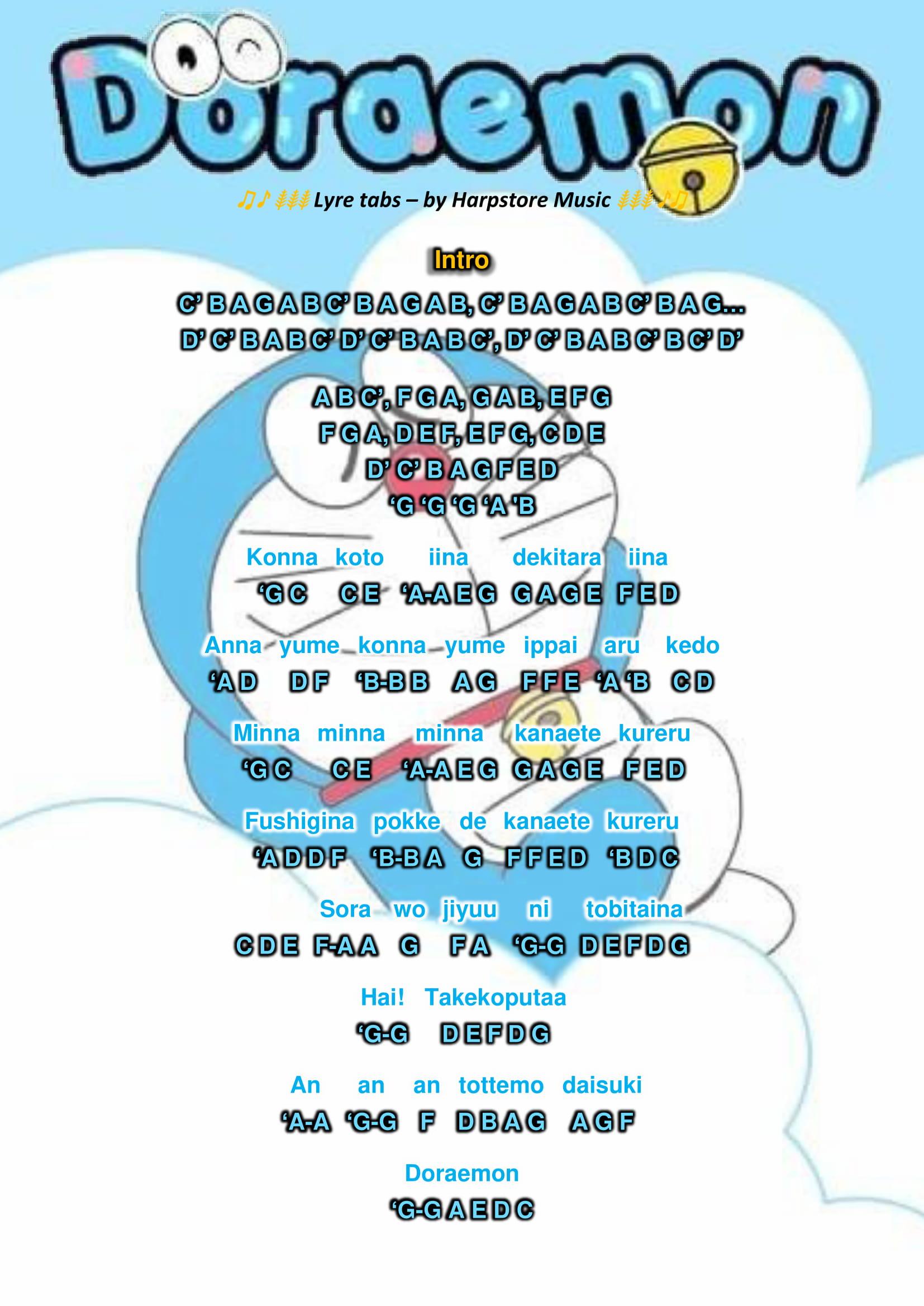 Doraemon no Uta Lyre