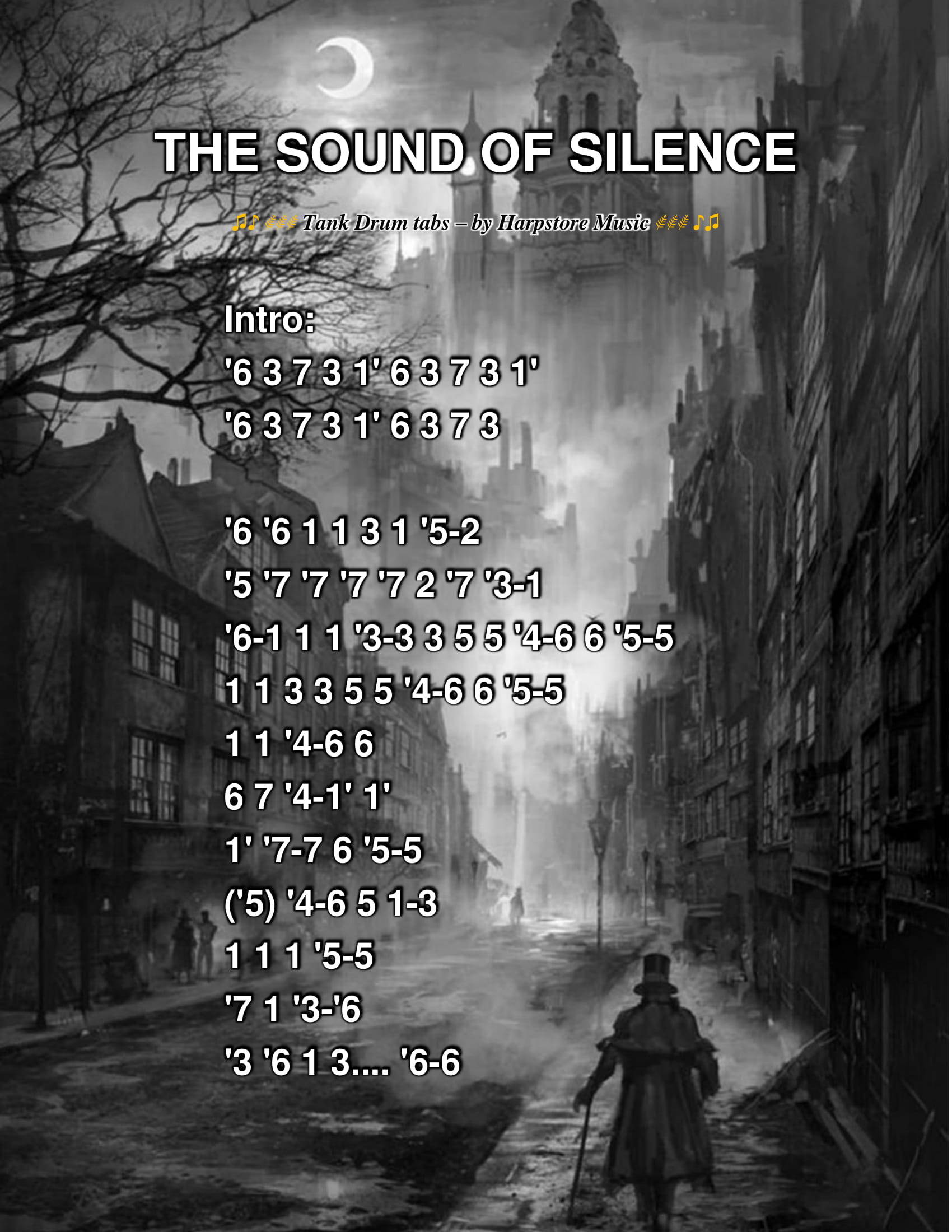 The Sound Of Silence Tabs