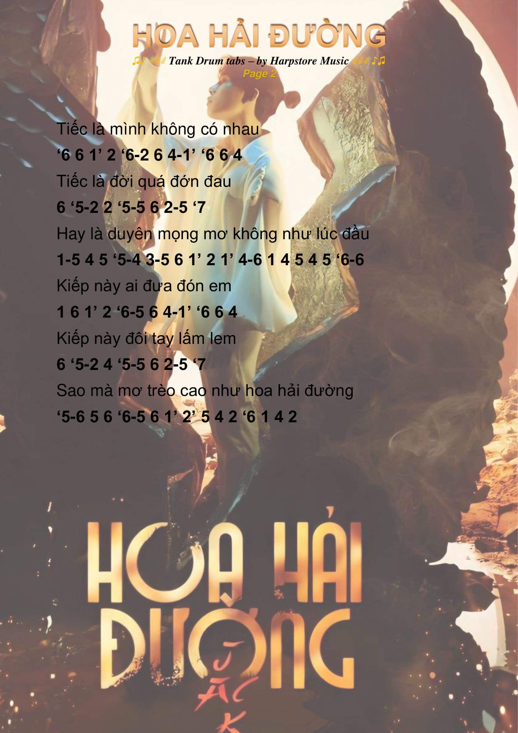 Hoa hải đường Tank Drum Cover 2