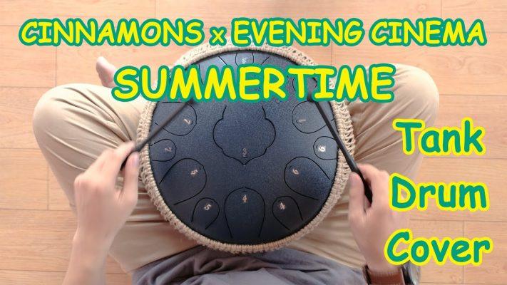 Summertime tank drum cover