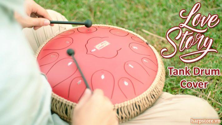 Love Story Tank Drum Cover (Taylor Swift) | Harpstore Music