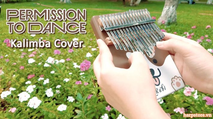 PERMISSION TO DANCE KALIMBA COVER