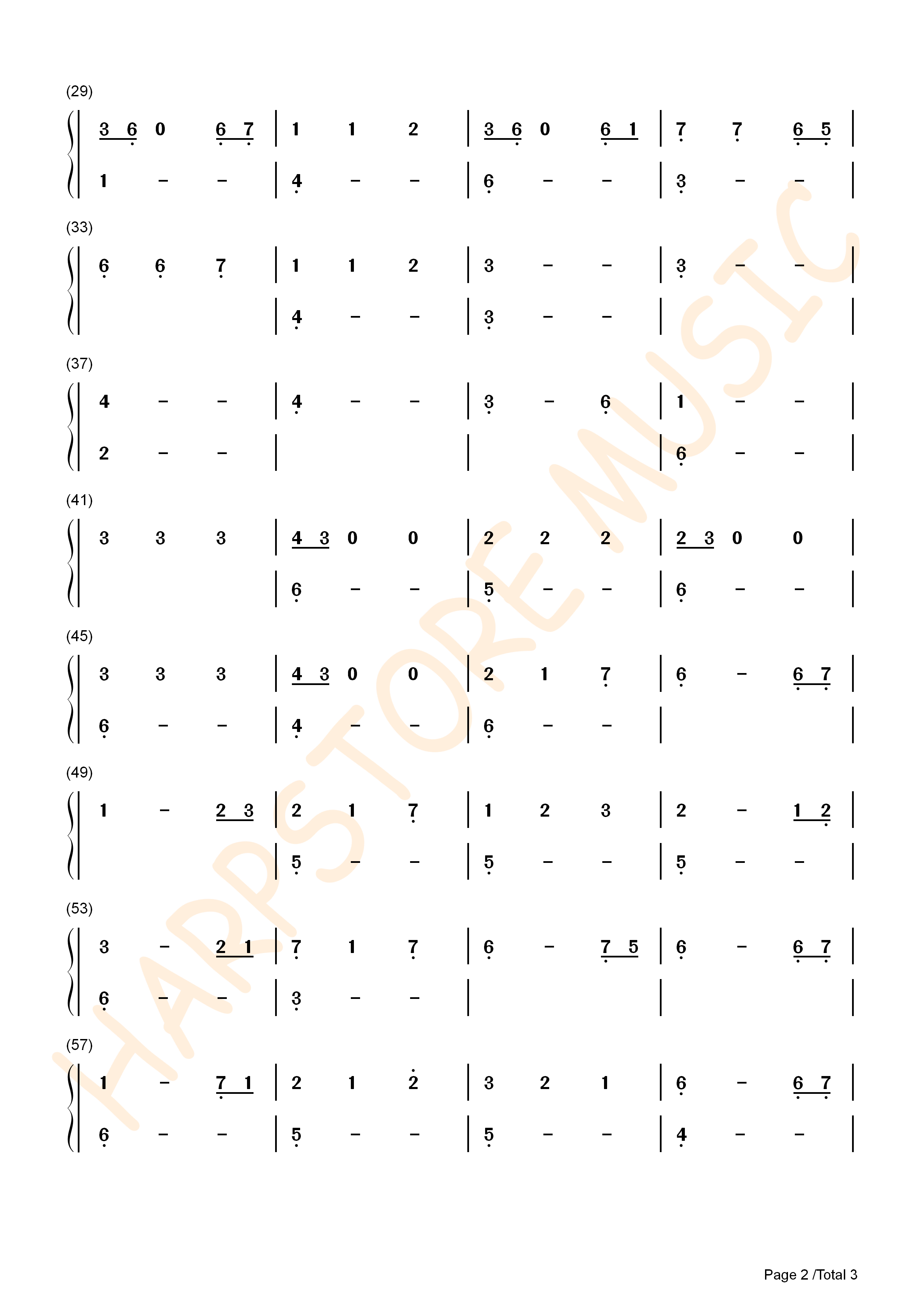 He's A Pirate TANK DRUM TABS 2